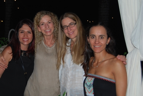 Christina with Nanna Meyer and FMND Leadership Team, October 2015