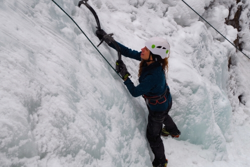 Ice Climmbing Photo