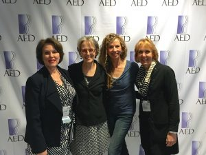 photo at International Conference on Eating Disorders with colleagues